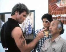 Ralph Macchio The Karate Kid Signed 11x14 Photo Psa/dna #w79918