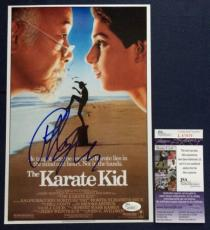 Ralph Macchio *The karate Kid* Signed 8x12 JSA COA