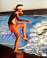 Ralph Macchio The Karate Kid Signed Autographed 11x14 Photo JSA Authentic 1