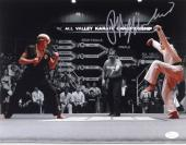 Ralph Macchio The Karate Kid Signed Autographed 11x14 Photo JSA Authentic 4
