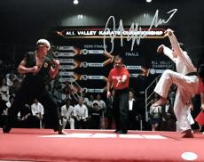 Ralph Macchio The Karate Kid Signed Autographed 11x14 Photo JSA Authentic 5