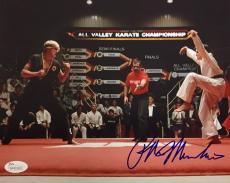 Ralph Macchio The Karate Kid Signed Autographed 8x10 Photo JSA Authentic 5