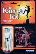 Ralph Macchio The Karate Kid Signed Autographed Action Figure JSA Authentic 3189