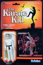 Ralph Macchio The Karate Kid Signed Autographed Action Figure JSA Authentic 3189