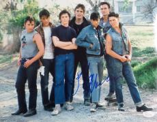 Ralph Macchio The Outsiders Signed Autographed 11x14 Photo JSA Authentic 1.