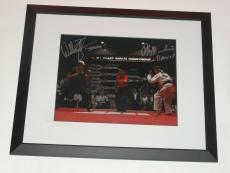 Ralph Macchio William Zabka Signed Framed The Karate Kid Final Match 11x14 Photo