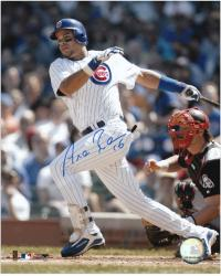 Aramis Ramirez Chicago Cubs Autographed 8'' x 10'' Looking For Ball Photograph - Mounted Memories