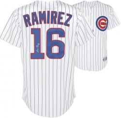 Aramis Ramirez Chicago Cubs Autographed Replica Jersey - Mounted Memories