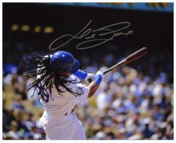 "Manny Ramirez Los Angeles Dodgers Autographed 8"" x 10"" Batting Photograph"