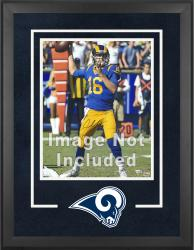 St. Louis Rams Deluxe 16'' x 20'' Vertical Photograph Frame with Team Logo - Mounted Memories