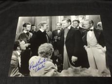 Rand Brooks Gone With The Wind Signed Autograph 11x14 Glossy Photo W Clark Gable