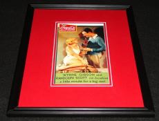 Randolph Scott & Wynne Gibson Framed 11x14 Coca Cola Poster Official Repro