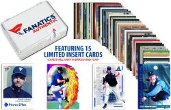 Randy Johnson-Seattle Mariners- Collectible Lot of 15 MLB Insert Trading Cards