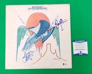 RANDY MEISNER & JD SOUTHER SIGNED EAGLES ON THE BORDER LP ALBUM BAS COA psa jsa