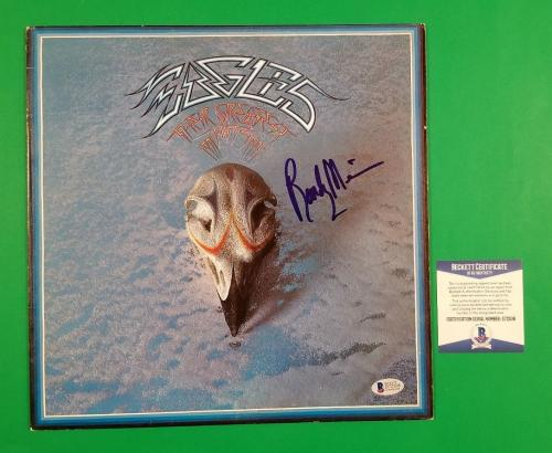 Randy Meisner Signed The Eagles Greatest Hits Lp Album With Beckett Bas Coa