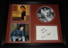 Randy Travis Signed Framed 11x14 Full Circle CD & Photo Display