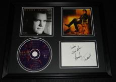 Randy Travis Signed Framed 11x14 This is Me CD & Photo Display