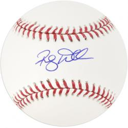 Randy Wells Chicago Cubs Autographed Baseball