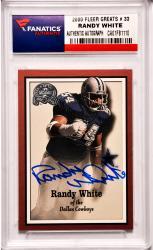 Randy White Dallas Cowboys Autographed 2000 Fleer Greats #33 Card