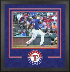 "Texas Rangers Deluxe 16"" x 20"" Horizontal Photograph Frame - Mounted Memories"
