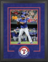"Texas Rangers Deluxe 16"" x 20"" Vertical Photograph Frame - Mounted Memories"