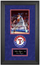 "Texas Rangers Deluxe 8"" x 10"" Team Logo Frame - Mounted Memories"