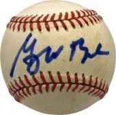 Rangers  George W Bush Signed Autographed OAL Baseball Full Name JSA