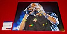 rapper SNOOP DOGG signed PSA/DNA 11X14 photo