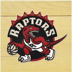 "NBA Toronto Raptors 12"" x 12"" Logo Floor Piece"