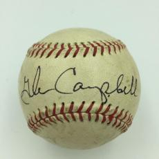 Rare 1950's Glen Campbell Single Signed Autographed Baseball With JSA COA