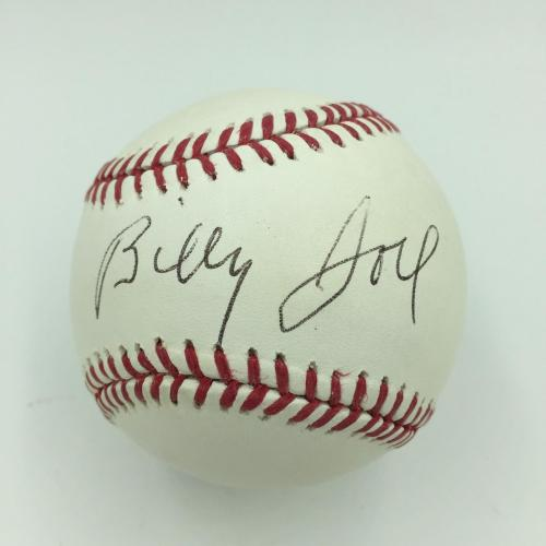 Rare Billy Joel Signed Autographed Official Major League Baseball With JSA COA