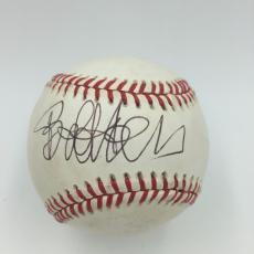 Rare Bob Hope Single Signed Autographed American League Baseball JSA COA
