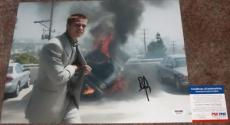 SEXY!! Brad Pitt RUSTY Signed OCEAN'S 12 11x14 Photo #1 PSA/DNA