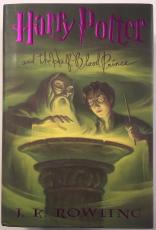 RARE-DANIEL RADCLIFF/ RUPERT GRINT signed HARRY POTTER and The Half Blood Prince