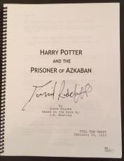 "RARE-DANIEL RADCLIFFE (Harry Potter)signed Prisoner of Azkaban"" movie script-JSA"