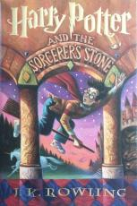 "RARE-DANIEL RADCLIFFE signed ""Harry Potter and the Sorcerer's Stone"" Book -PSA"