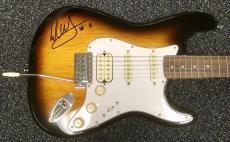 RARE- EDDIE VAN HALEN authentic signed guitar-Perfect on body signature- JSA
