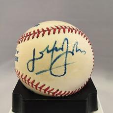 Rare Elton John Signed Autographed Official 1995 World Series Baseball