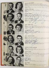Rare Elvis Presley Signed Autographed 1953 High School Yearbook With JSA COA