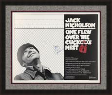 RARE- JACK NICHOLSON signed/framed One Flew Over The Cuckoo's Nest poster-JSA
