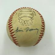 Rare James Jim Toomey Single Signed NL Baseball St. Louis Cardinals GM JSA COA