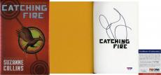 Rare Jennifer Lawrence Signed Catching Fire Book Katniss Hunger Games PSA/DNA