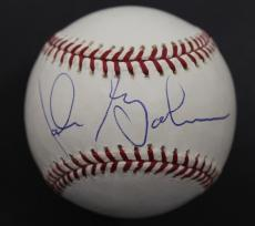 Signed Babe Ruth Ball - Rare! John Goodman 1992 Psa dna Oml