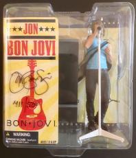 "RARE-JON BON JOVI signed McFarlane 6"" Action Figure #411/500 Exclusive Fan Club"