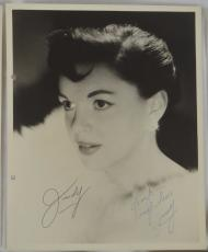 RARE Judy Garland Signed Autographed 8x10 Photo With JSA COA Wizard Of Oz