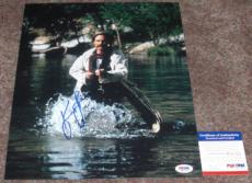 NOOOOO!! Kurt Russell Signed TOMBSTONE 11x14 Photo #2 PSA/DNA Wyatt Earp