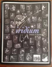 "RARE-LES PAUL d.2010 signed/autographed ""Iridium"" Jazz club menu- JSA"