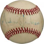 RARE Michael Jackson Signed Autographed National League Baseball PSA DNA COA