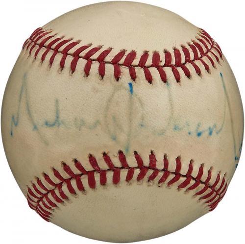 RARE Michael Jackson Signed Autographed National League Baseball PSA DNA COA