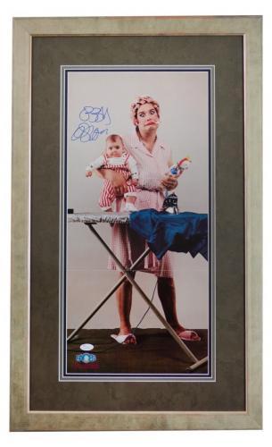 RARE- OZZY OSBOURNE (Black Sabbath) signed vintage poster framed display-JSA